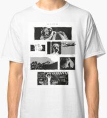 Alien montage Classic T-Shirt