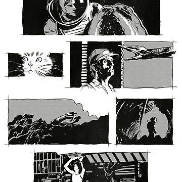 Alien montage by deimos-remus