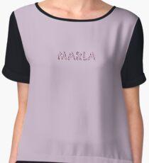 Marla Women's Chiffon Top