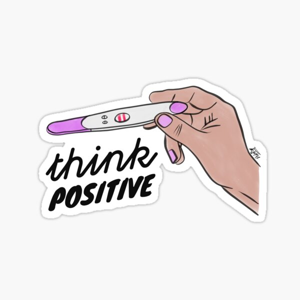 Pregnancy Test Stickers Redbubble