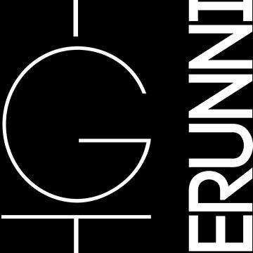 Fundamental YGTee (White Text) by YGTFreerunning