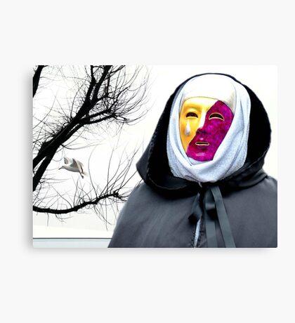 Maschera Canvas Print