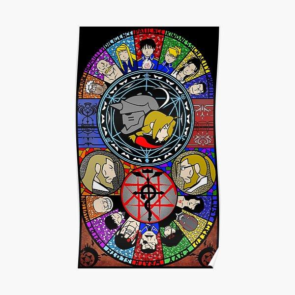 Fullmetal Alchemist Vitrail Poster