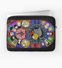 Fullmetal Alchemist Stained Glass Laptop Sleeve