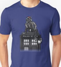 Ten and the TARDIS Unisex T-Shirt