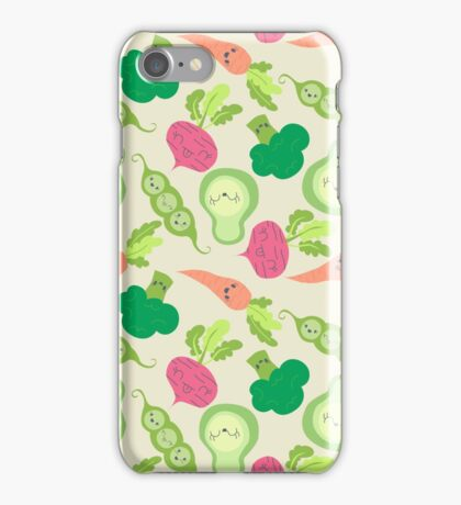 VEGETABLE PARTY! iPhone Case/Skin