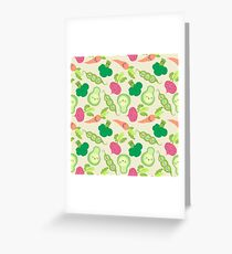 VEGETABLE PARTY! Greeting Card