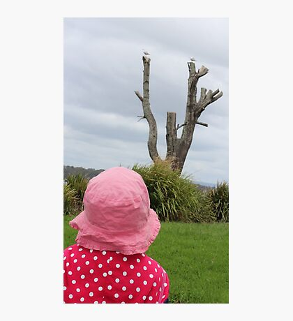 Baby & the Bird Tree Photographic Print
