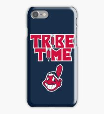 Cleveland Indians Tribe Time Chief Wahoo iPhone Case/Skin