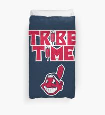 Cleveland Indians Tribe Time Chief Wahoo Duvet Cover