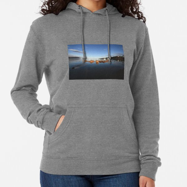 Great Oyster Bay, Coles Bay. Lightweight Hoodie