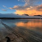 Richardsons Beach, Coles Bay. by Ian Ramsay