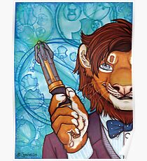 Doctor Mew - 11th Lion Poster