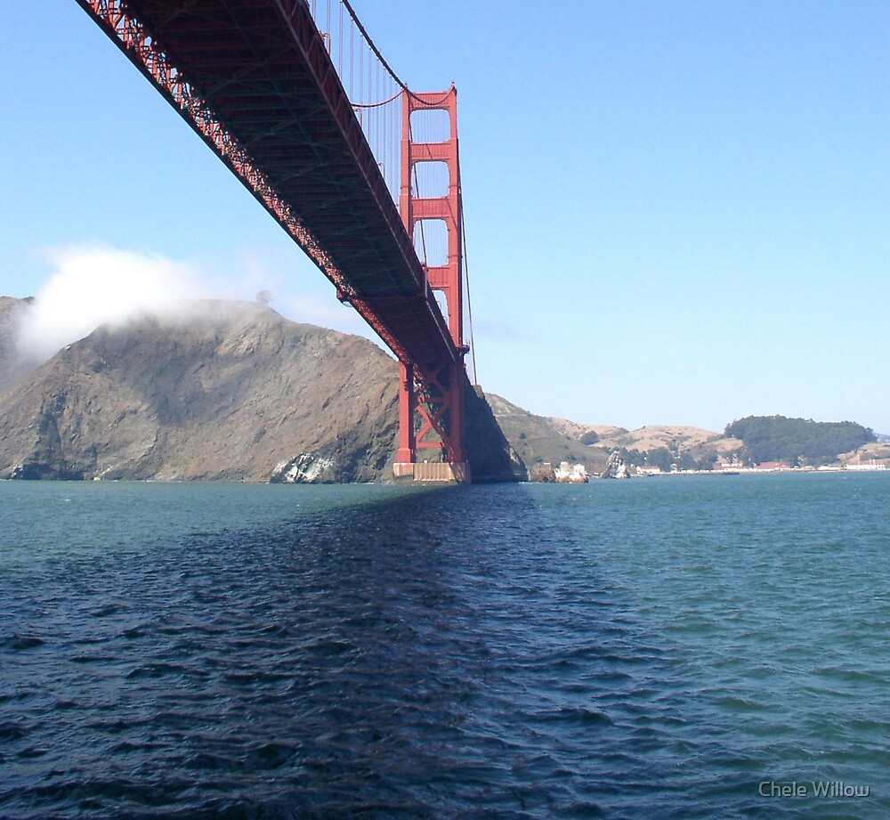 Under the Golden Gate Bridge II by Chele Willow