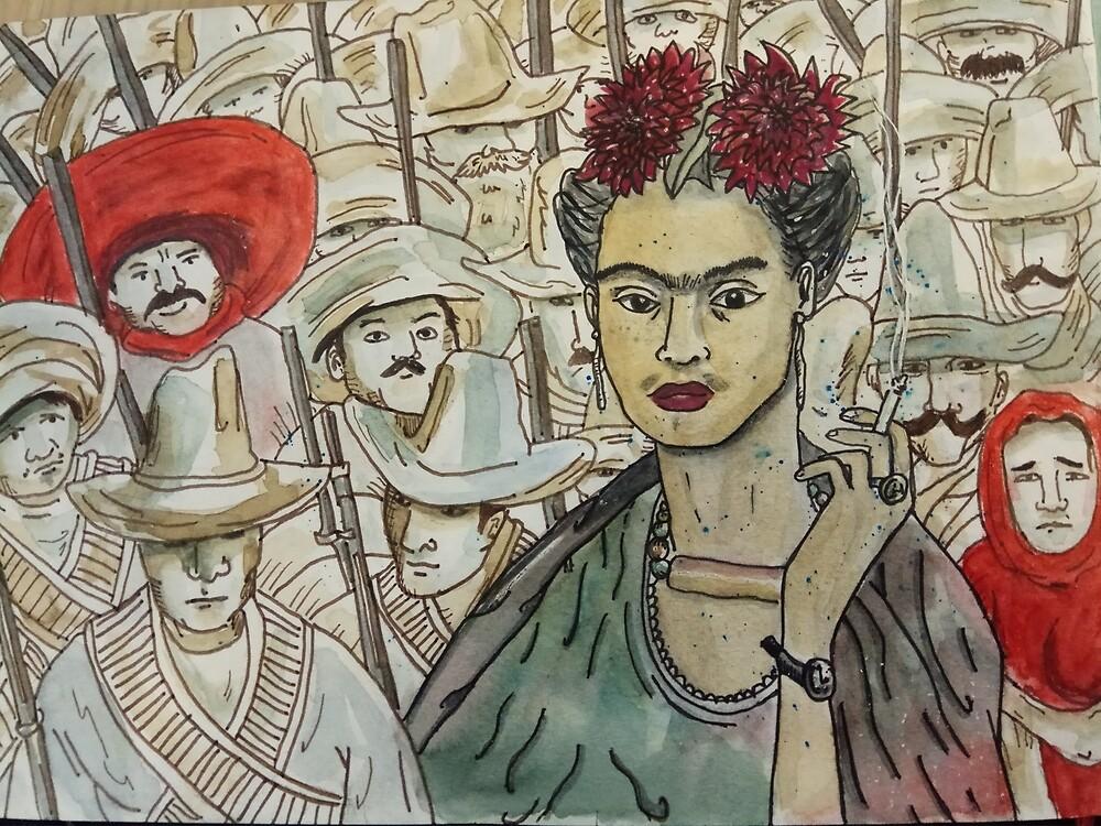 «Frida Kahlo Revolution» de laramaktub