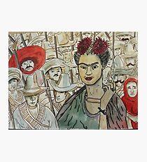 Frida Kahlo Revolution Lámina fotográfica