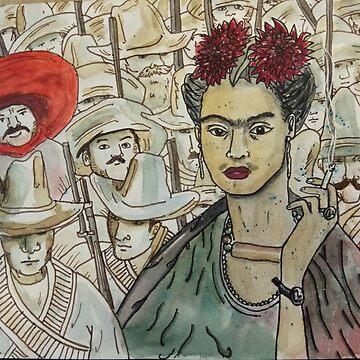 Frida Kahlo Revolution de laramaktub