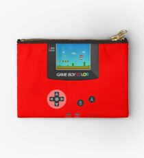 Retro Nintendo Game Boy Super Mario  Studio Pouch
