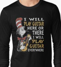 DR SEUSS GUITAR LOVERS T-Shirt