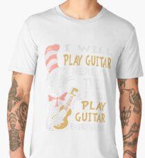 DR SEUSS GUITAR LOVERS Men's Premium T-Shirt