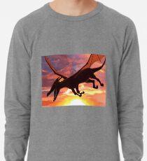 Soaring - Dragon Illustration Lightweight Sweatshirt