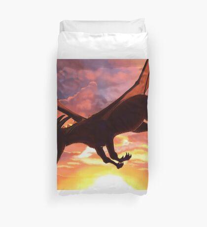 Soaring - Dragon Illustration Duvet Cover