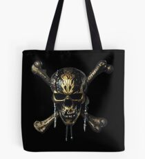 PIRATES OF THE CARIBBEAN  DEAD MEN TELL NO TALES SKULL Tote Bag