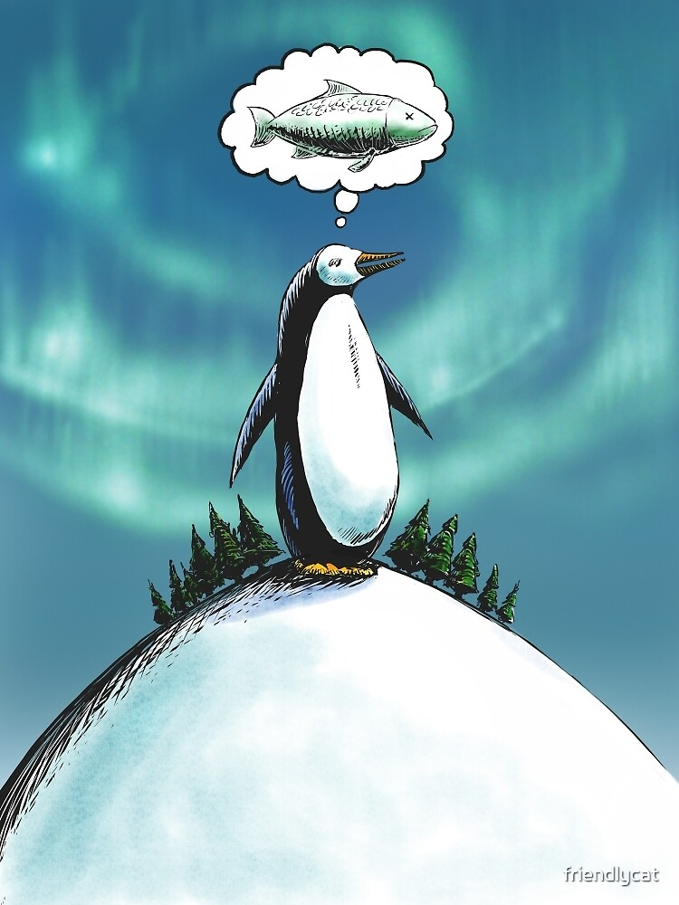 Penguin christmas wish by friendlycat