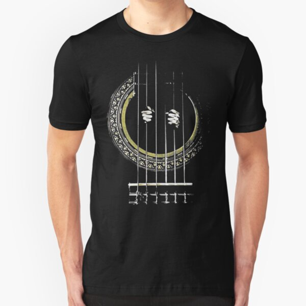 GUITAR SHIRT GUITAR PRISONER Slim Fit T-Shirt