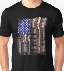GUITAR US FLAG T-Shirt