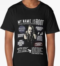 Root - Person of interest - Amy Acker Long T-Shirt