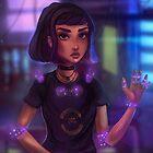 Rheumatoid Cyber Girl by yazsalem
