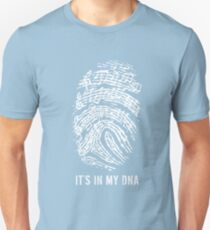 MUSIC NOTES IT IS IN MY DNA Unisex T-Shirt