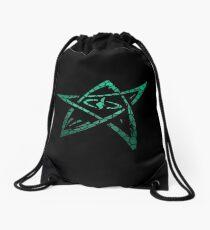 Elder Sign (Derleth Edition)! Drawstring Bag