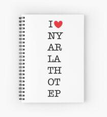 I heart Nyarlathotep Spiral Notebook