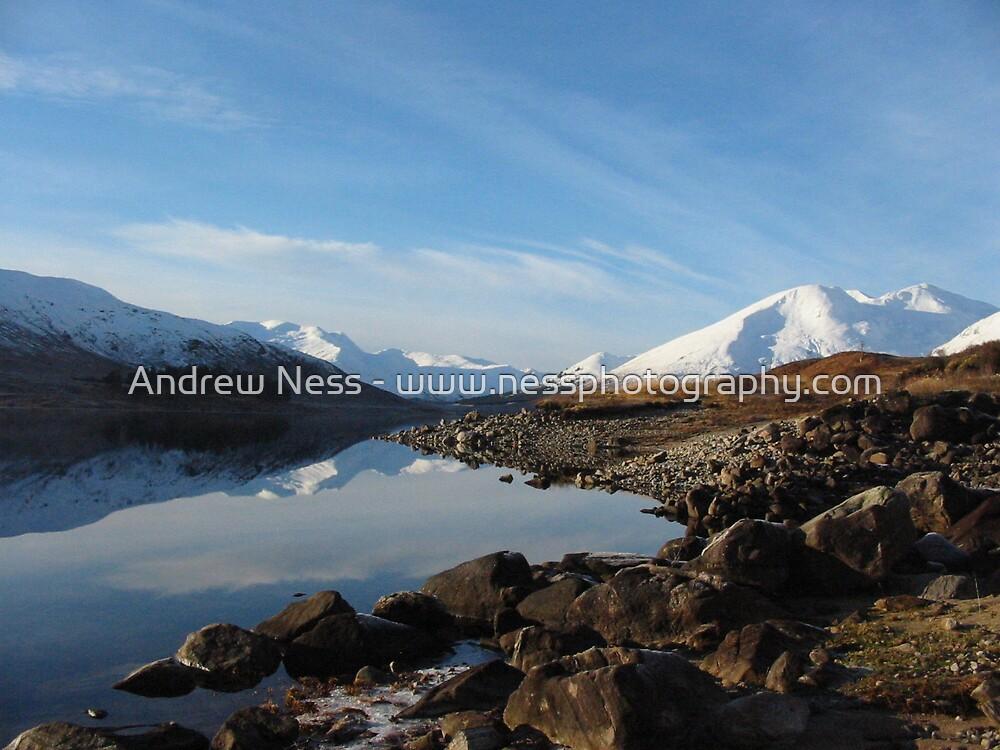 Loch Cluanie by Andrew Ness - www.nessphotography.com