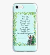 Shakespeare's Fae iPhone Case/Skin