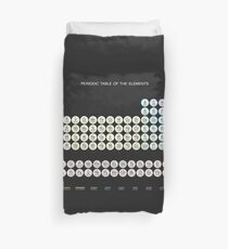 Periodic table duvet covers redbubble periodic table of the elements duvet cover urtaz Image collections