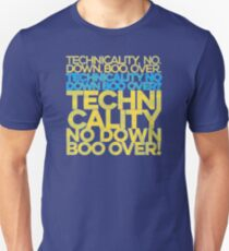 No down boo over T-Shirt