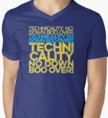 No down boo over Men's V-Neck T-Shirt