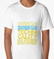 No down boo over Long T-Shirt