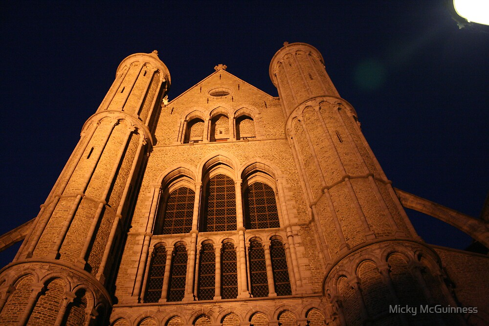 Our Lady's Church; Vrouwekerkhof Zuid, Brugge 8000, Belgium by Micky McGuinness