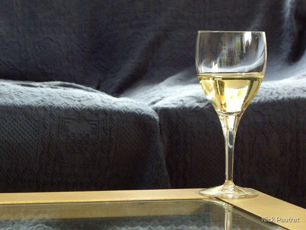 Wine glass by Nick Pautrat