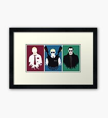 Cornetto Trilogy Framed Print