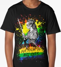 Lexa - Our fight is not over - The 100 - Pride Long T-Shirt