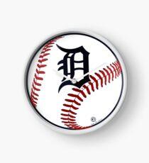 Detroit Tigers Baseball Clock