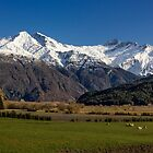 Matukituki River Valley by Charles Kosina