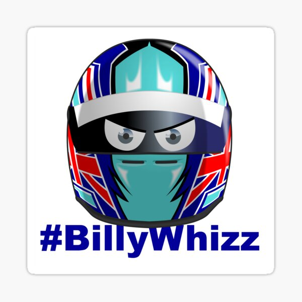 BILLY WHIZZ Sticker