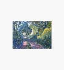 Hockney's Tunnel of Trees Art Board