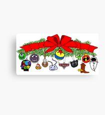 Pixar Christmas Bough Canvas Print